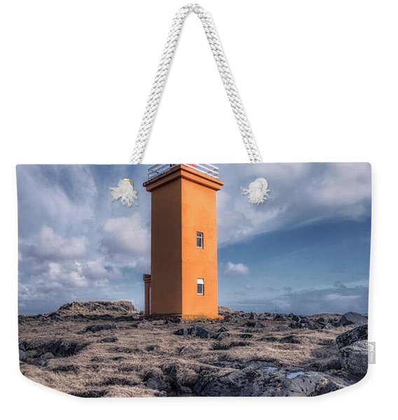 Shallows Of The Golden Shoreline Weekender Tote Bag
