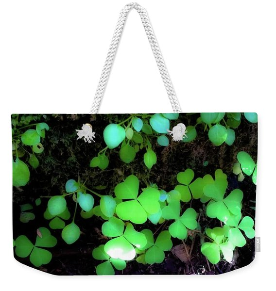 shamrocks #1A Weekender Tote Bag