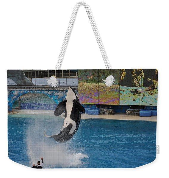 Shamu Splash Weekender Tote Bag