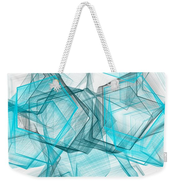 Shapes Galore Weekender Tote Bag