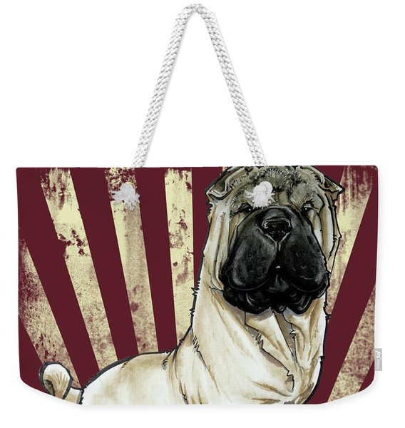 Shar Pei Revolution Weekender Tote Bag