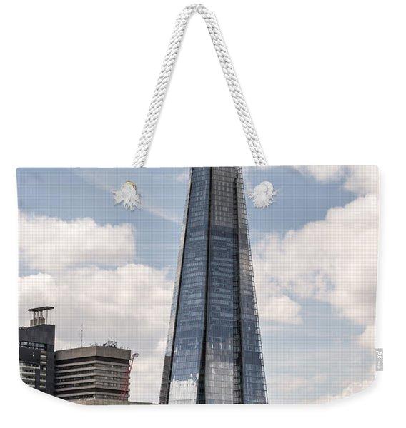 Shard Building In London Weekender Tote Bag
