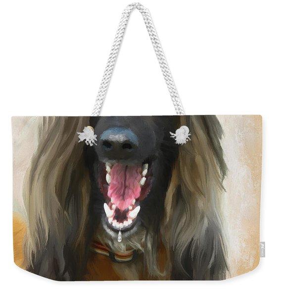 Sharing A Good Laugh Weekender Tote Bag