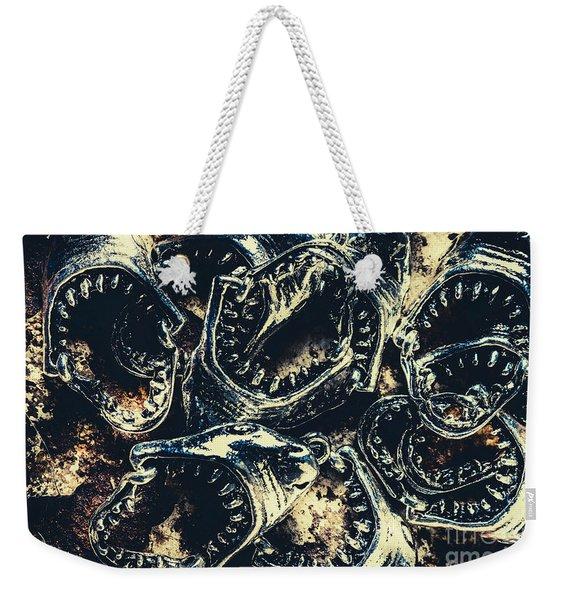 Shark Jaws Weekender Tote Bag
