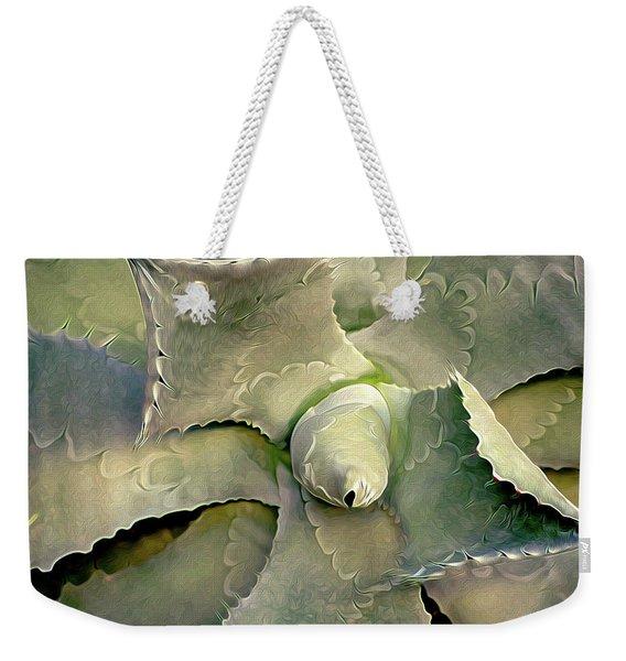 Sharp Embrace 8 Weekender Tote Bag