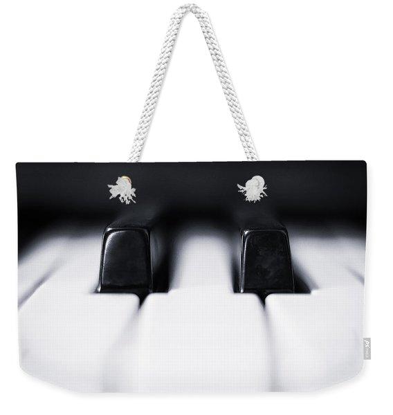 Sharp Or Flat Weekender Tote Bag