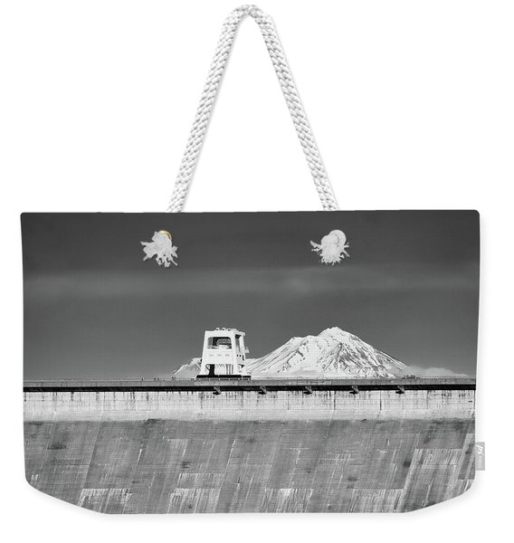 Shasta Dam  Weekender Tote Bag