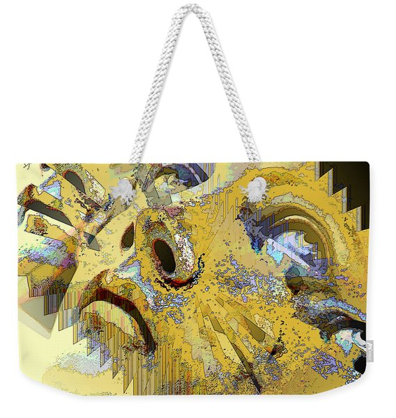 Shattered Illusions Weekender Tote Bag