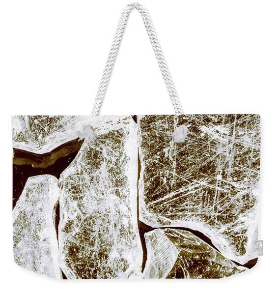 Shattering Shards Weekender Tote Bag