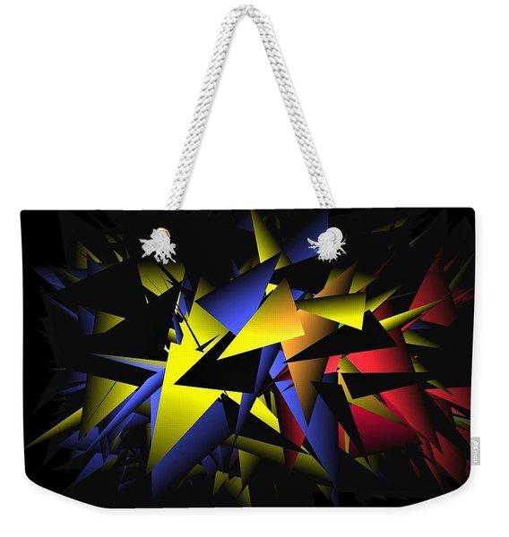 Shattering World Weekender Tote Bag