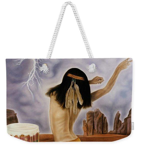 She Called The Rain Weekender Tote Bag