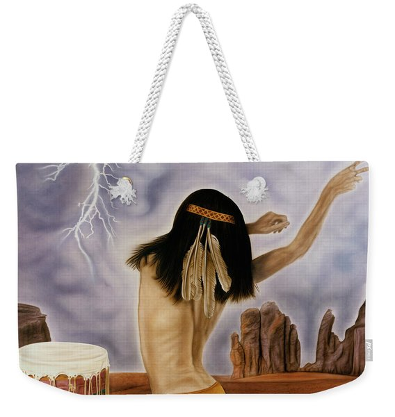 She Called The Rain Weekender Tote Bag