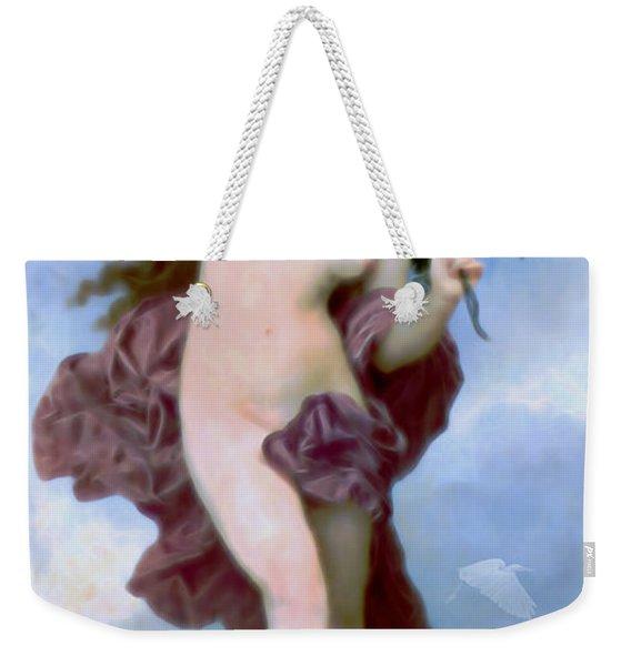 She Dances Into Spring Weekender Tote Bag