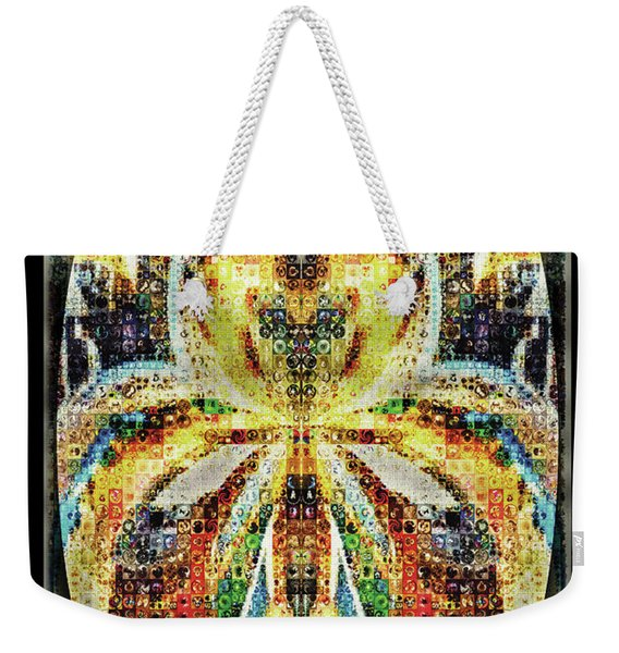 She Is A Mosaic Weekender Tote Bag