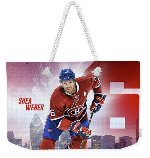 Shea Weber Weekender Tote Bag