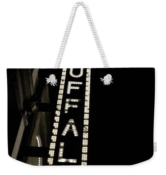 Shea's Buffalo Weekender Tote Bag