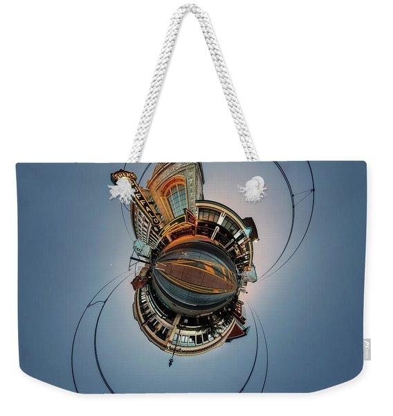 Shea's On Main Street Buffalo - Tiny Planet Weekender Tote Bag