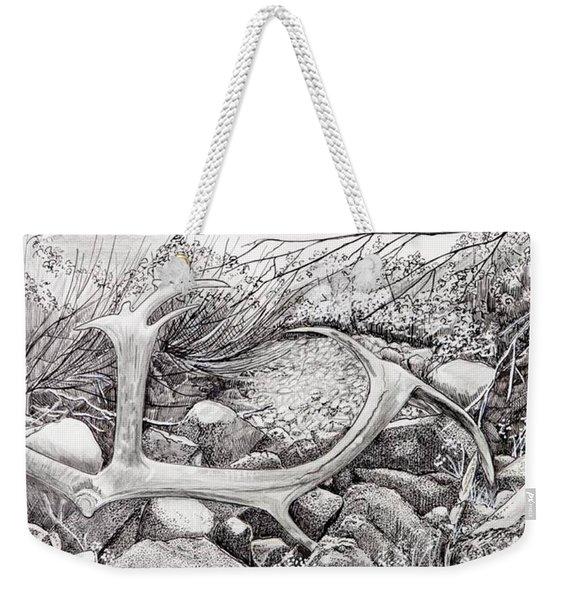Shed Antler Weekender Tote Bag