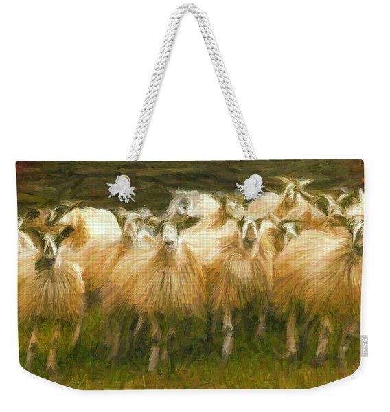 Sheep At Hadrian's Wall Weekender Tote Bag