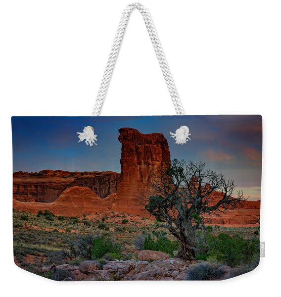Sheep Rock Weekender Tote Bag