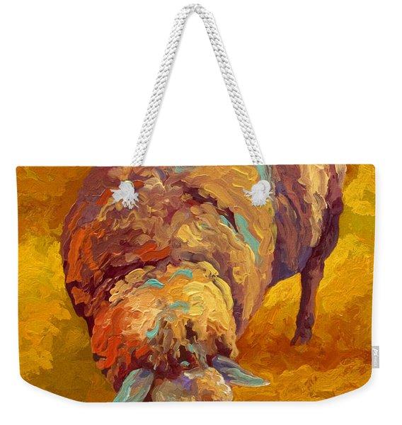 Sheepish Weekender Tote Bag