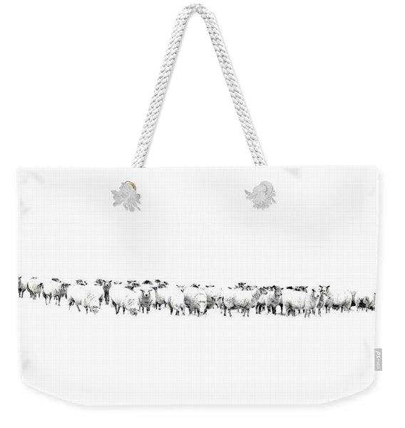 Sheeple  Weekender Tote Bag