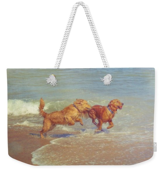 Weekender Tote Bag featuring the photograph Sheer Joy by JAMART Photography
