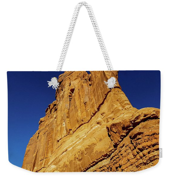 Sheer Rock Face, Arches National Park Weekender Tote Bag