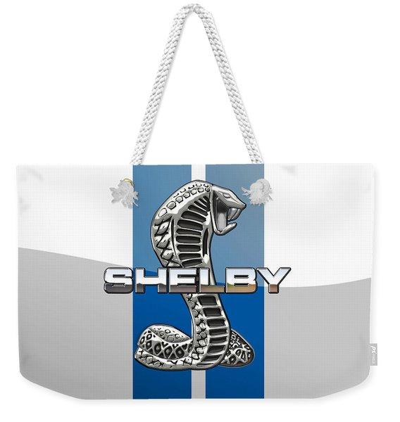 Shelby Cobra - 3d Badge Weekender Tote Bag