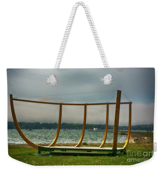 Shell Of A Hull Weekender Tote Bag