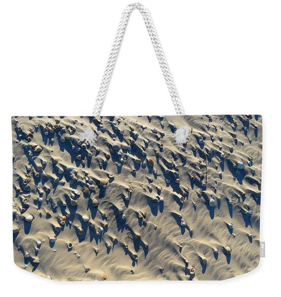 Sand, Shells And Shadows Weekender Tote Bag