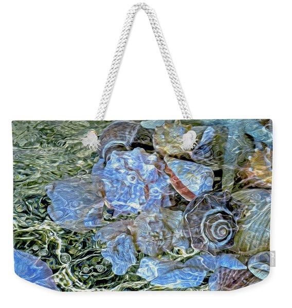 Shells Underwater 20 Weekender Tote Bag