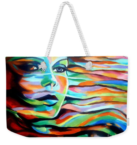 Sheltered By The Wind Weekender Tote Bag