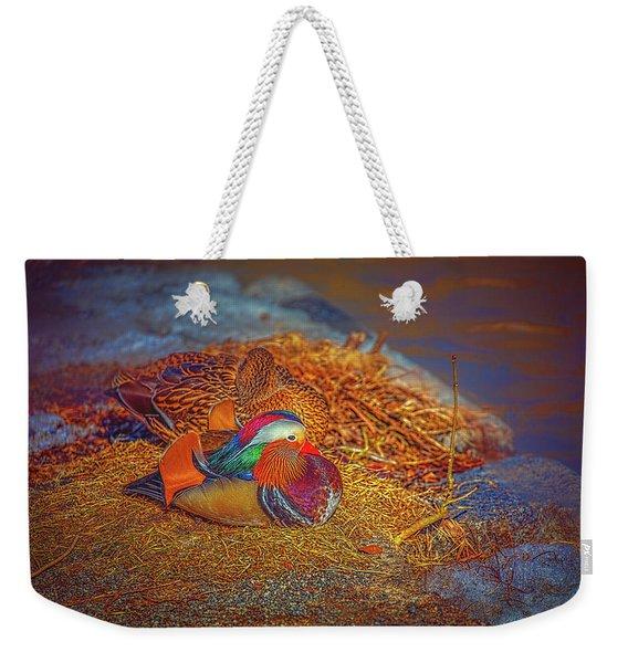 Sheltered #h4 Weekender Tote Bag