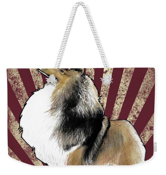 Sheltie Revolution Weekender Tote Bag