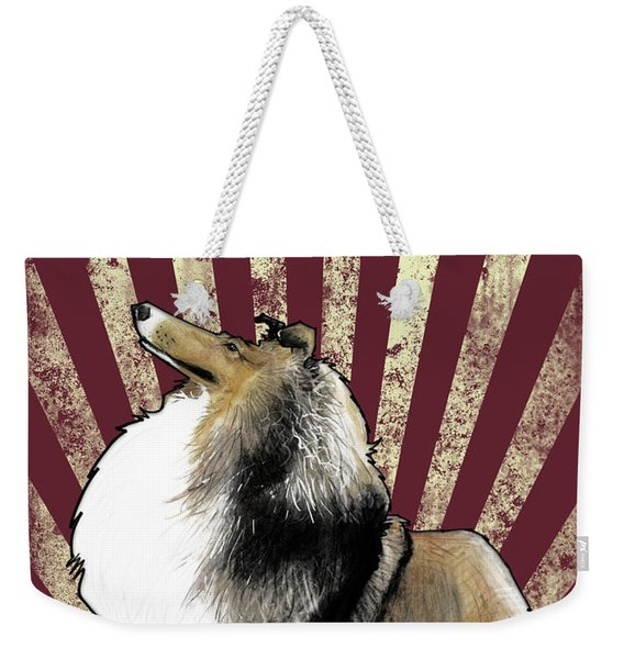 Sheltie Revolution Weekender Tote Bag