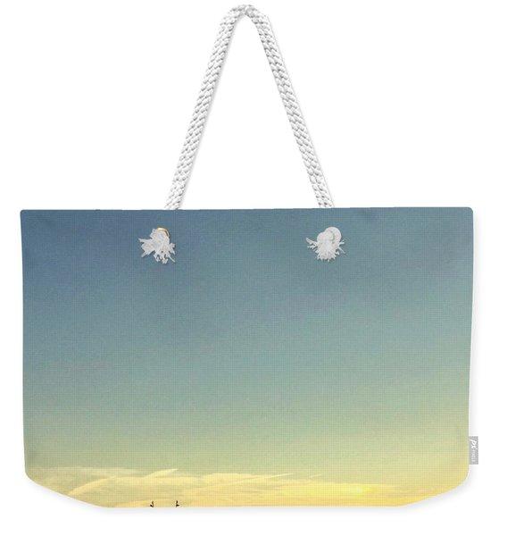 Shem Creek Weekender Tote Bag