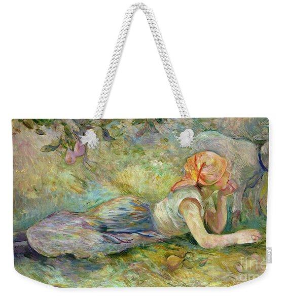 Shepherdess Resting Weekender Tote Bag