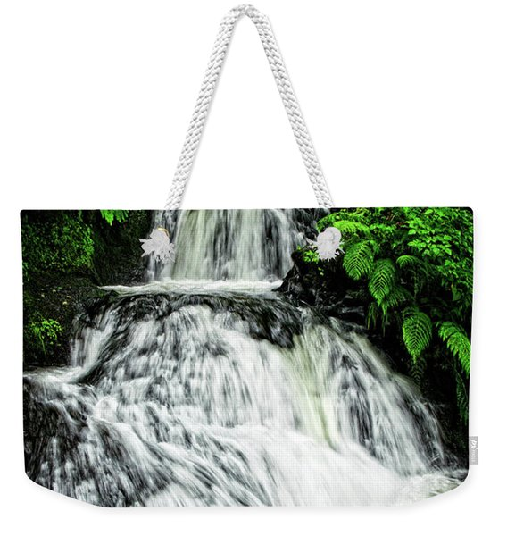 Shepperd's Dell In Rain Weekender Tote Bag