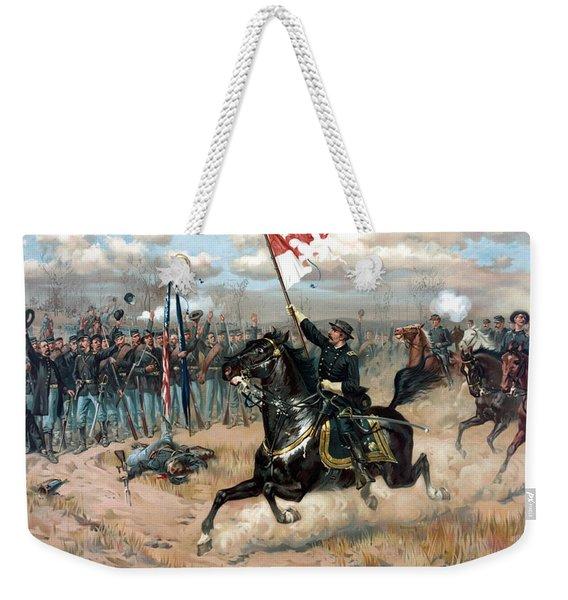 Sheridan's Ride Weekender Tote Bag