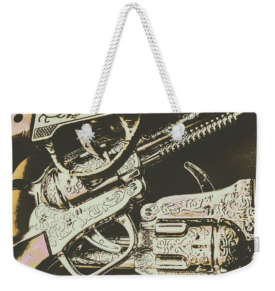 Sheriff Guns Weekender Tote Bag