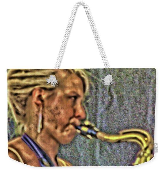 She's Jazzed Weekender Tote Bag
