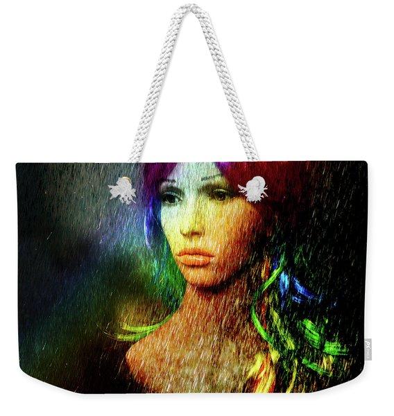 She's Like A Rainbow Weekender Tote Bag