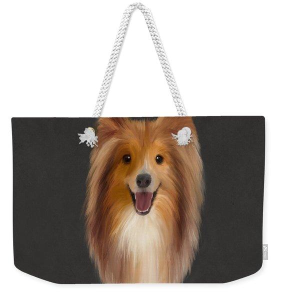 Shetland Sheepdog Weekender Tote Bag