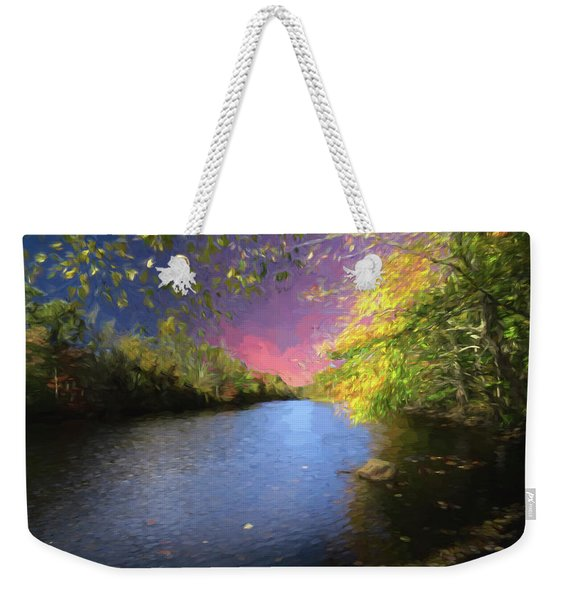 Shetucket River Ct. Weekender Tote Bag