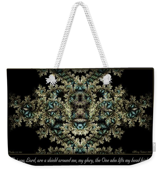 Shield Around Me Weekender Tote Bag