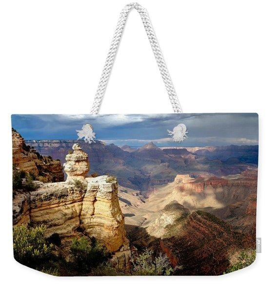 Shifting Shadows Weekender Tote Bag