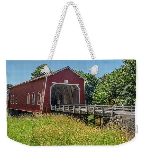 Shimanek Covered Bridge No. 2 Weekender Tote Bag