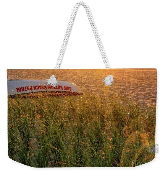 Ship Bottom Beach Patrol Weekender Tote Bag