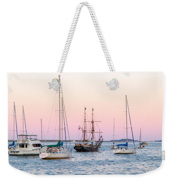 Ship Out Of Time Weekender Tote Bag